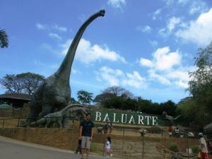 Baluarte Zoo dinosaurs