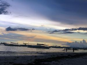 Panglao beach, Bohol at sunset
