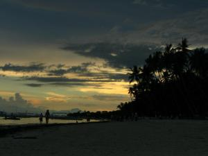Sunset at Panglao beach